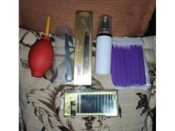 Kit para alongamento de Cílios