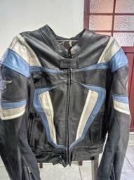Título do anúncio: Macacão couro para motociclista