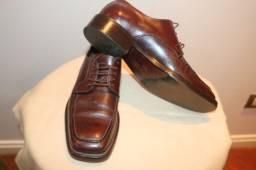 Sapato Masculino em Couro, Tam 42.