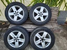 Jogo de Rodas aro 15 Corolla Fox Audi