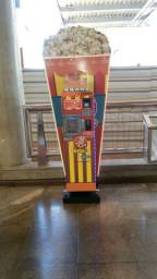 Máquina de pipoca automática, vending machine, marca Mais Pipoca(Almeida Tecnologic)