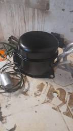 Compressor de ar pintura e encher pneu