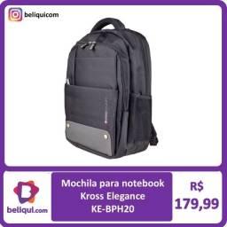 Título do anúncio: Mochila para notebook azul   Kross Elegance  