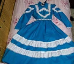 Vestido De Prenda Tam: 10