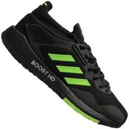 Tênis adidas Pulseboost Hd - Masculino - Preto/Verde