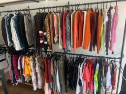 Vendo estoque roupas femeninas