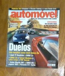 Título do anúncio: Revista Automóvel E Requinte - Ano 5 - N° 43 -fevereiro 2001