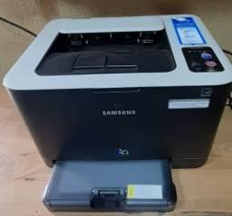 Título do anúncio: Impressora Laser colorida Sansung CLP-325