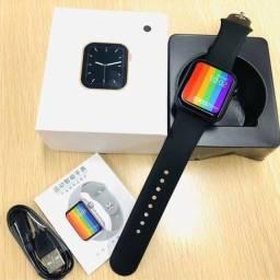 Título do anúncio: Novo Relógio Inteligente Smartwatch Iwo X8 + Película De Brinde Faz e Recebe Ligações