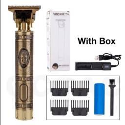 Título do anúncio: Barbeador profissional Vintage T9 cabelo barba - produto novo
