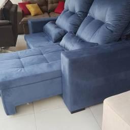 Sofá retratil e reclinável, poltrona, chaise, divã, estofados, fabrica de sofá, pillow