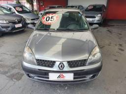 CLIO 2004/2005 1.0 AUTHENTIQUE SEDAN 16V GASOLINA 4P MANUAL