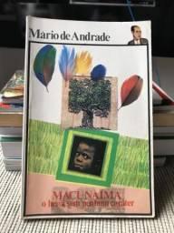 Livro Macunaíma de Mário de Andrade