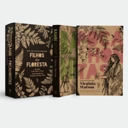 Box lacrado livros exclusivos Pocahontas e Bambi . Literatura