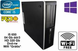 Computador Hp Core i5 Intel 3.2Ghz / 04gb ddr3 / Hd320 / Wifi