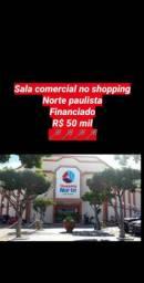 Sala comercial no Shoping Norte - Paulista, R$ 50 mil