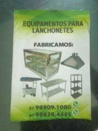 COIFA MESAS DE INOX ETC...