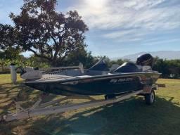 Barco de pesca canoa big Fish 2018