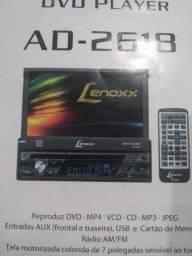 Um som LCD Lenoxx 7 polegadas