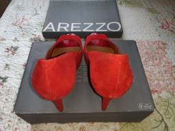 Sapato Salto Alto Arezzo Peep Toe