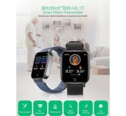 Smartwatch BlitzWolf BW-HL1T Temperatura corporal 12x no cartão