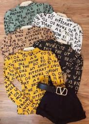 Blusa letters