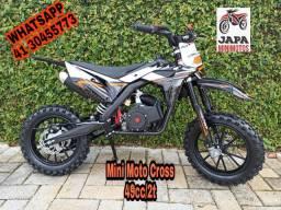 Mini Moto Cross MXF Automática Em 10 Vezes Sem Juros