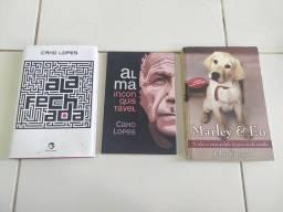 Livros novos ou pouco lidos. Único dono