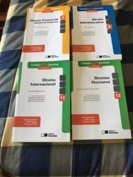 Lote 4 livros coleção OAB nacional 1a fase