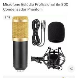 MICROFONE BM800 UASDO SÓ UMA VEZ  VALOR 280