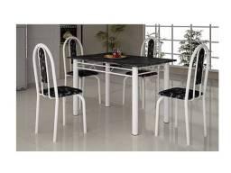 New! compre pelo wpp e receba amanhã - 97970//4415 - Mesa 4 Cadeiras Ipanema Retangular