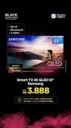 BLACK FRIDAY Smart TV 4K QLED 55? Samsung 55Q70TA - Wi-Fi Bluetooth HDR 4 HDMI 2 USB<br><br>
