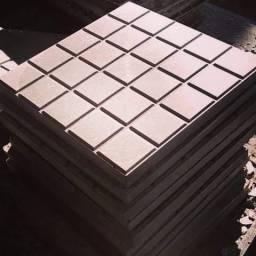 Piso de cimento (concreto), ladrilho, ladrilho hidráulico, pavimento , piso def. Visual