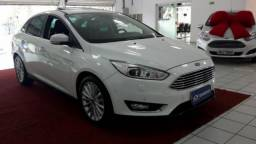 FORD FOCUS FASTBACK TITANIUM PLUS 2.0 16V P.SHIFT FLEXONE Branco 2017/2018