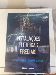 Livro Instalações Elétricas Prediais Cavalin e Cervelin