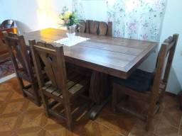 Título do anúncio: Mesa de jantar c/6 cadeiras