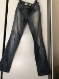 Calça jeans Coca cola original TAM 38 cintura baixa