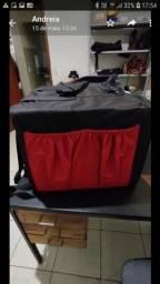 Mochila caixa térmica pra transporte