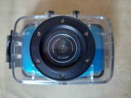 Mini Câmera Go Pro c/ acessórios-Manual