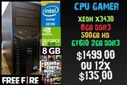 CPU Gamer Xeon 8gb