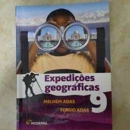 Livro Expedições Geográficas - 9°ano - Editora Moderna (2 Edição)