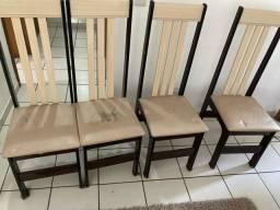 Título do anúncio: Conjunto de cadeiras para sala (usadas)