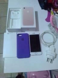 Vendo  iPhone 7 todo completo