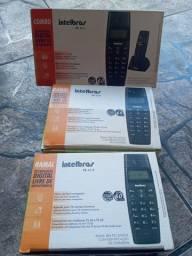 Aparelho telefone sem fio Intelbras usado