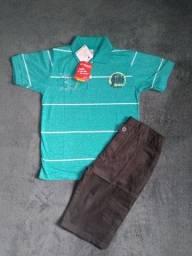 COMBO ROUPAS INFANTIS 06 ANOS (3 ROUPAS)