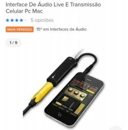 Título do anúncio: Interface para celular.gravar video audio .