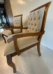 vendo 2 lindas cadeiras seminovas