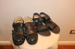 Lote 2 sapatos Masculinos Tam 42