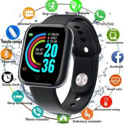 Título do anúncio: ?Promotion?Y68 Smartwatch à Prova D?água USB Esportivo / Smart Watch