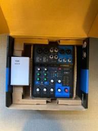 Mesa Mixer De Som Yamaha Mg06x 6 Canais (Dentro da garantia, 1 ano, acompanha NF)